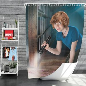 Nancy Drew and the Hidden Staircase Movie Sophia Lillis Shower Curtain