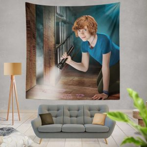 Nancy Drew and the Hidden Staircase Movie Sophia Lillis Wall Hanging Tapestry