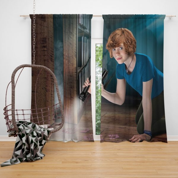 Nancy Drew and the Hidden Staircase Movie Sophia Lillis Window Curtain