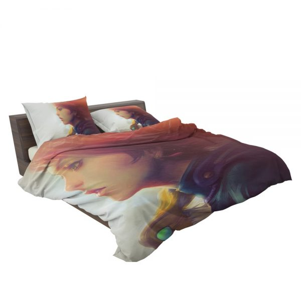 Nausicaä of the Valley of the Wind Movie Girl Red Hair Bedding Set 3