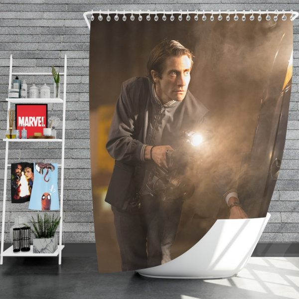 Nightcrawler Movie Jake Gyllenhaal Shower Curtain