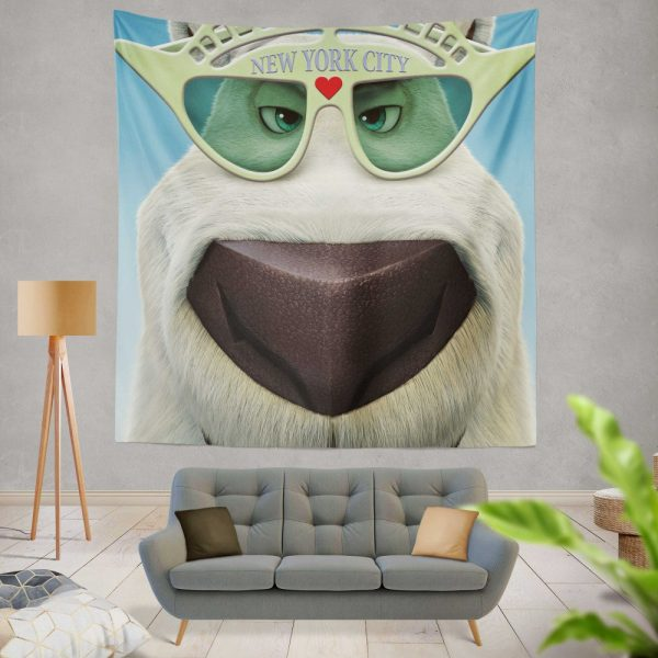 Norm of the North Movie Norm of the North Polar Bear Wall Hanging Tapestry