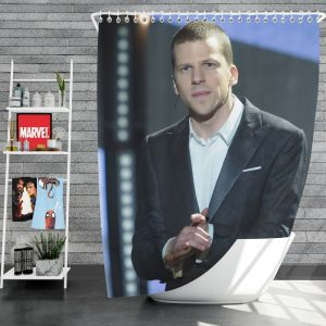 Now You See Me 2 Movie J Daniel Atlas Jesse Eisenberg Shower Curtain