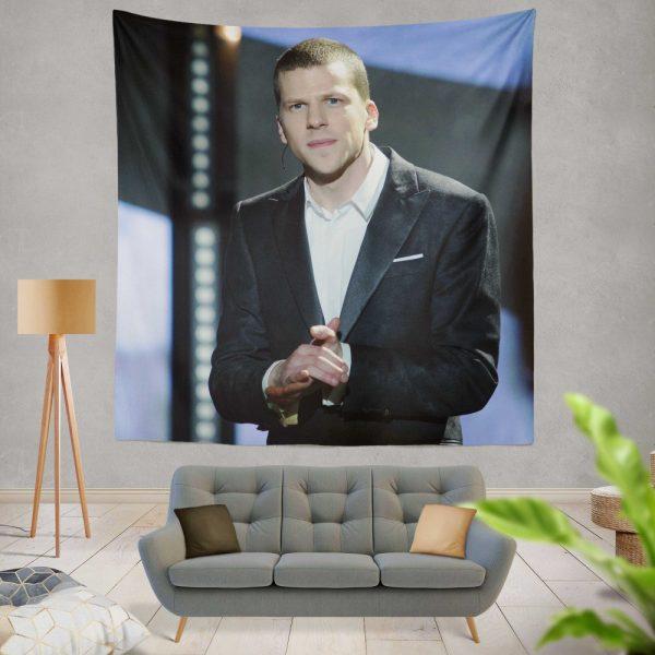 Now You See Me 2 Movie J Daniel Atlas Jesse Eisenberg Wall Hanging Tapestry