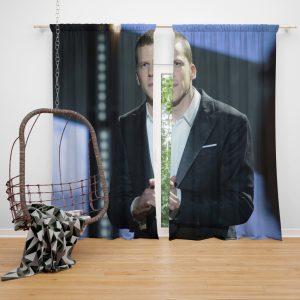 Now You See Me 2 Movie J Daniel Atlas Jesse Eisenberg Window Curtain