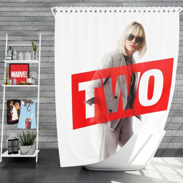 Ocean's 8 Movie Cate Blanchett Shower Curtain
