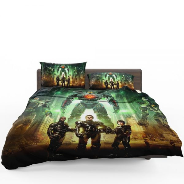 Pacific Rim Movie Stacker Pentecost Lambert Liwen Shao Bedding Set 1