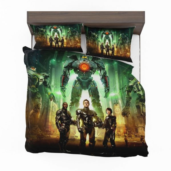 Pacific Rim Movie Stacker Pentecost Lambert Liwen Shao Bedding Set 2