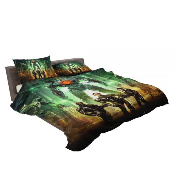 Pacific Rim Movie Stacker Pentecost Lambert Liwen Shao Bedding Set 3
