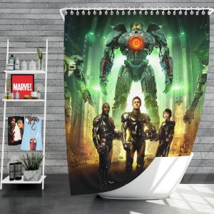Pacific Rim Movie Stacker Pentecost Lambert Liwen Shao Shower Curtain