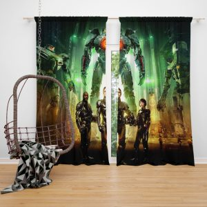 Pacific Rim Movie Stacker Pentecost Lambert Liwen Shao Window Curtain