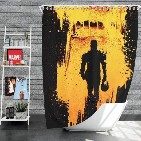 Pacific Rim Uprising Movie Shower Curtain