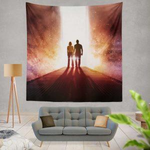 Passengers Movie Chris Pratt Jennifer Lawrence Wall Hanging Tapestry