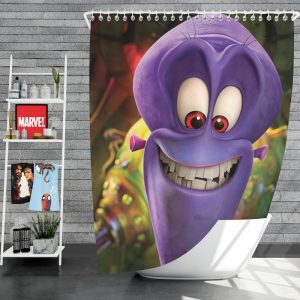 Penguins of Madagascar Movie Charming Villain Dave Shower Curtain