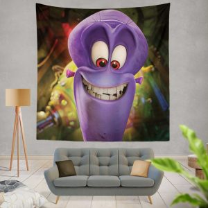 Penguins of Madagascar Movie Charming Villain Dave Wall Hanging Tapestry