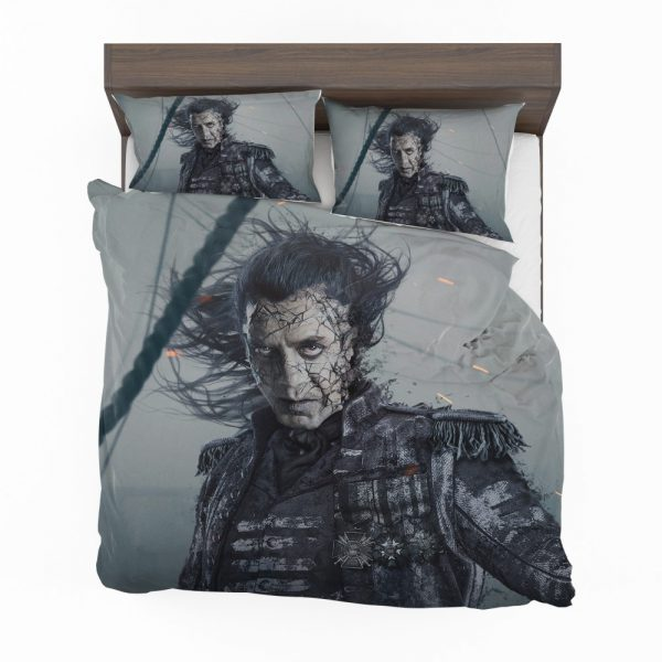 Pirates Of The Caribbean Dead Men Tell No Tales Movie Captain Salazar Javier Bardem Bedding Set 2