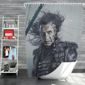 Pirates Of The Caribbean Dead Men Tell No Tales Movie Captain Salazar Javier Bardem Shower Curtain