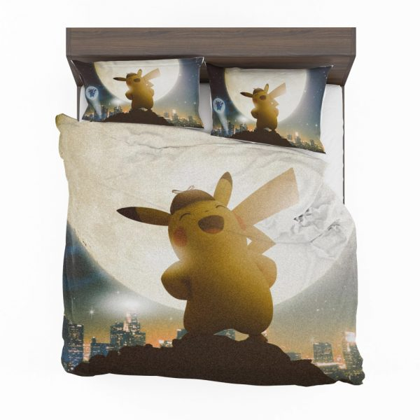 Pokémon Detective Pikachu Movie Pikachu Bedding Set 2