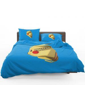 Pokémon Movie Pikachu Electric Pokemon Species Bedding Set 1