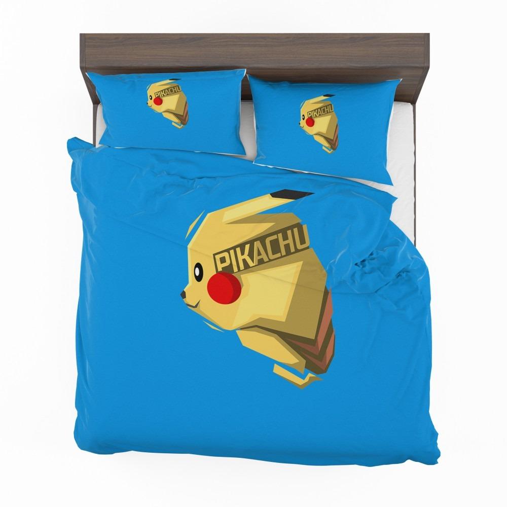 Pok 233 Mon Movie Pikachu Electric Pokemon Species Bedding Set