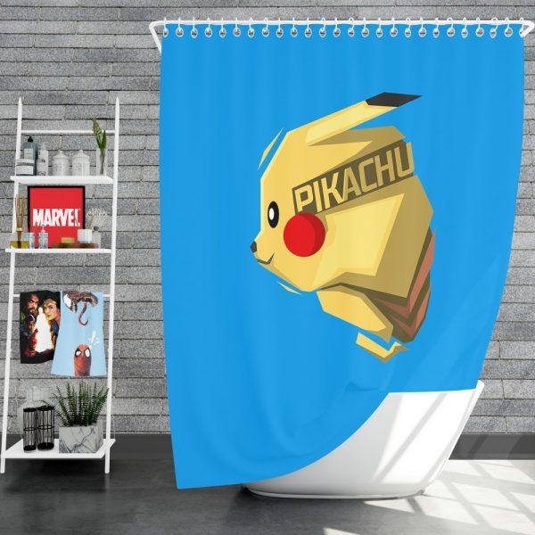 Pokémon Movie Pikachu Electric Pokemon Species Shower Curtain