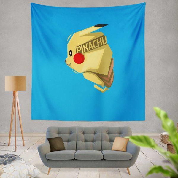 Pokémon Movie Pikachu Electric Pokemon Species Wall Hanging Tapestry