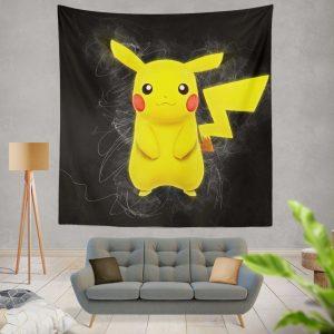 Pokémon Movie Pikachu Wall Hanging Tapestry