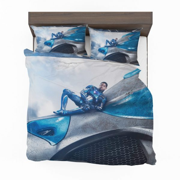 Power Rangers 2017 Movie Billy Cranston Blue Ranger Zord Bedding Set 2