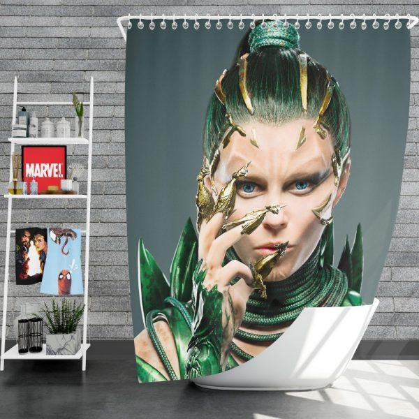 Power Rangers 2017 Movie Elizabeth Banks Rita Repulsa Shower Curtain