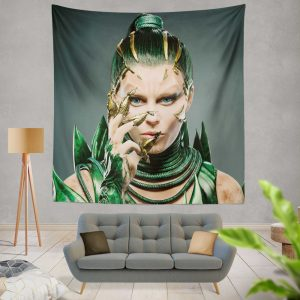 Power Rangers 2017 Movie Elizabeth Banks Rita Repulsa Wall Hanging Tapestry