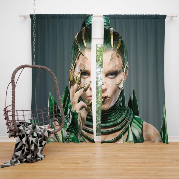 Power Rangers 2017 Movie Elizabeth Banks Rita Repulsa Window Curtain