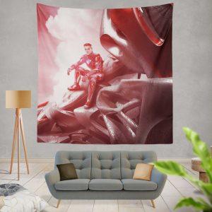 Power Rangers 2017 Movie Jason Lee Scott Red Ranger Zord Wall Hanging Tapestry