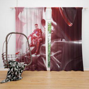 Power Rangers 2017 Movie Jason Lee Scott Red Ranger Zord Window Curtain