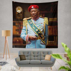 RED Movie Joe Matheson Morgan Freeman Wall Hanging Tapestry