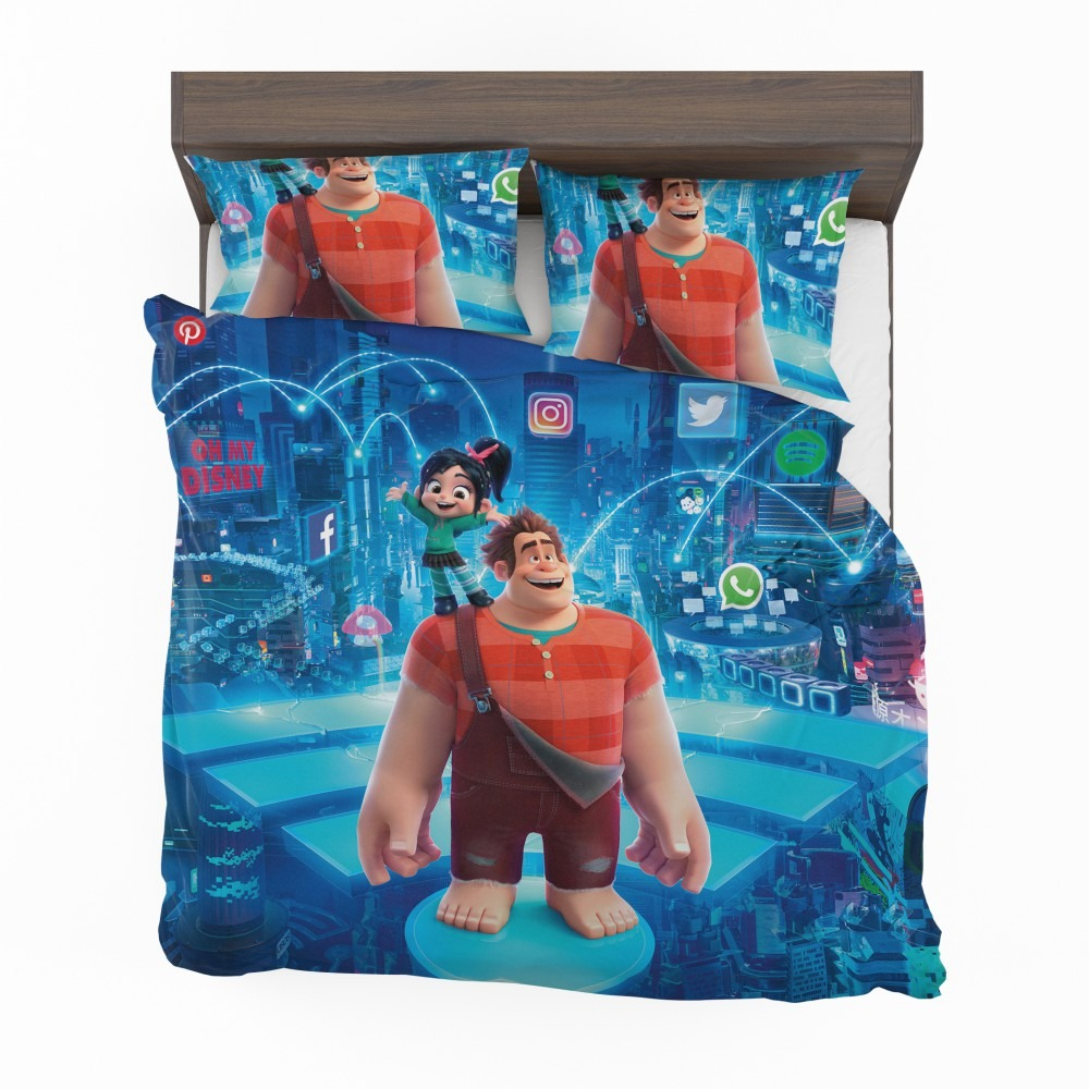 Ralph Breaks The Internet Twin Comforter new!