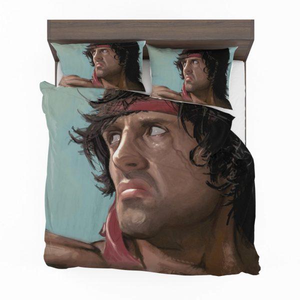 Rambo Movie Sylvester Stallone Bedding Set 2