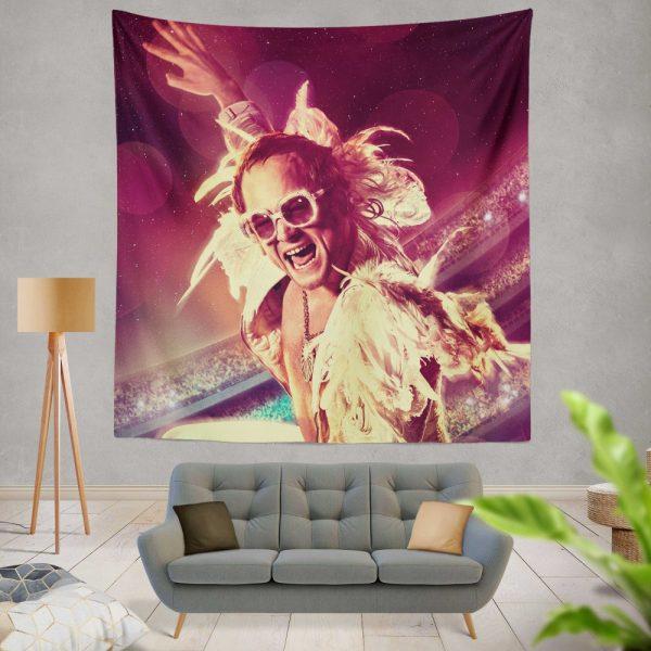 RocketMan Movie Taron Egerton Rocketman Wall Hanging Tapestry