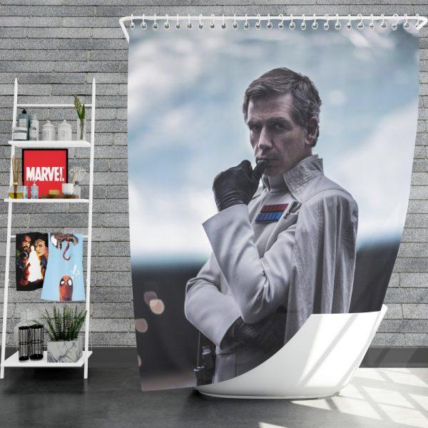 Rogue One A Star Wars Story Movie Ben Mendelsohn Orson Krennic Shower Curtain