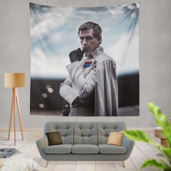 Rogue One A Star Wars Story Movie Ben Mendelsohn Orson Krennic Wall Hanging Tapestry