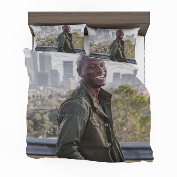Roman Pearce Tyrese Gibson in Furious 7 Fast & Furious Bedding Set 2