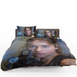 Sarah Connor Emilia Clarke in Terminator Genisys Movie Bedding Set 1