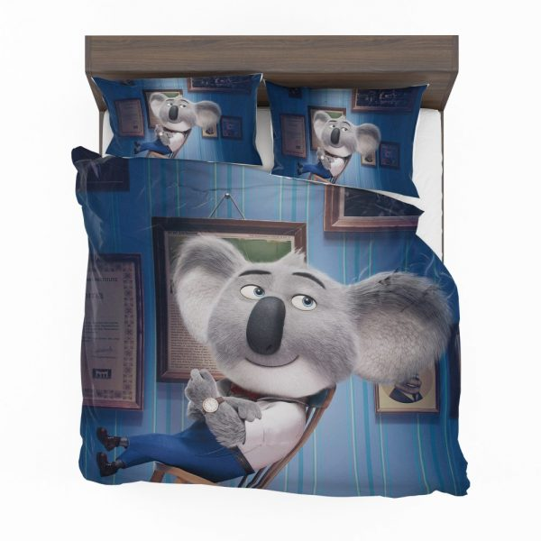 Sing Movie Buster Moon Koala Bedding Set 2