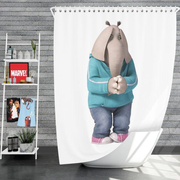 Sing Movie Meena Shower Curtain