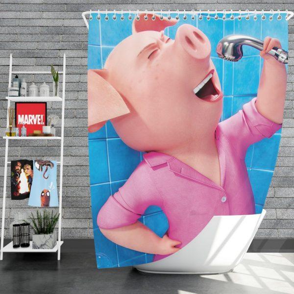 Sing Movie Rosita Shower Curtain