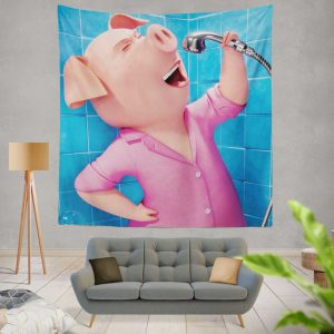Sing Movie Rosita Wall Hanging Tapestry