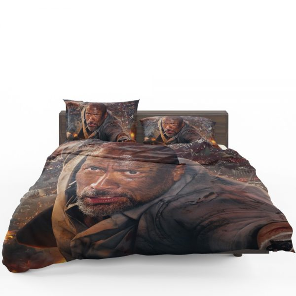 Skyscraper Movie Dwayne Johnson Bedding Set 1