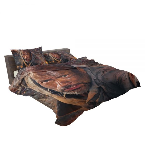 Skyscraper Movie Dwayne Johnson Bedding Set 3