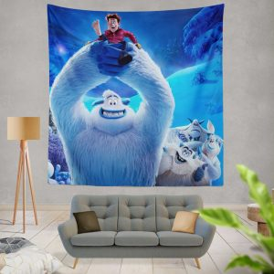 Smallfoot Movie Wall Hanging Tapestry
