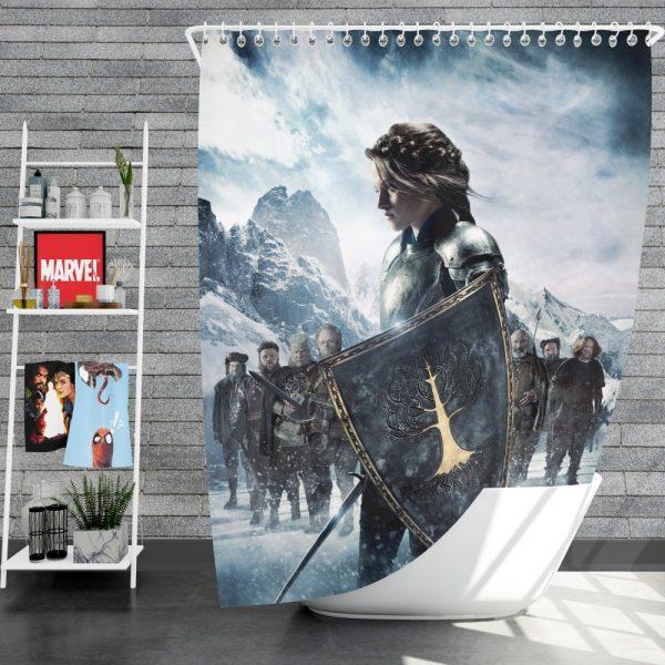 Snow White And The Huntsman Movie Kristen Stewart Shower Curtain