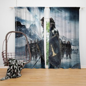 Snow White And The Huntsman Movie Kristen Stewart Window Curtain